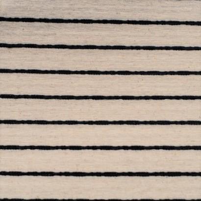 Tela de punto rayas finas marinera lisa