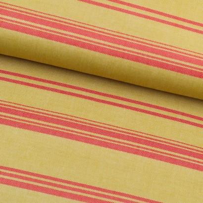Tela de sarga rayas lomo