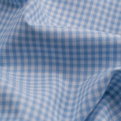 Tela de algodon vichy (4mm) detalle