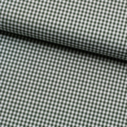 Tela de algodon vichy (4mm) lomo