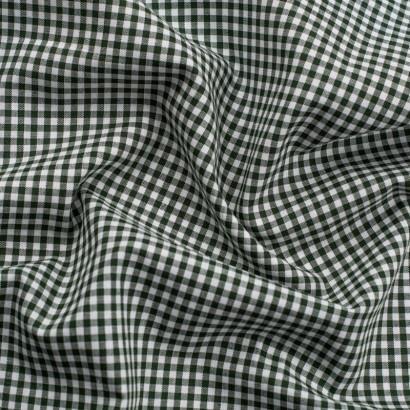 Tela de algodon vichy (4mm) arrugada