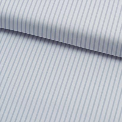 Tela de algodón rayas finas lomo