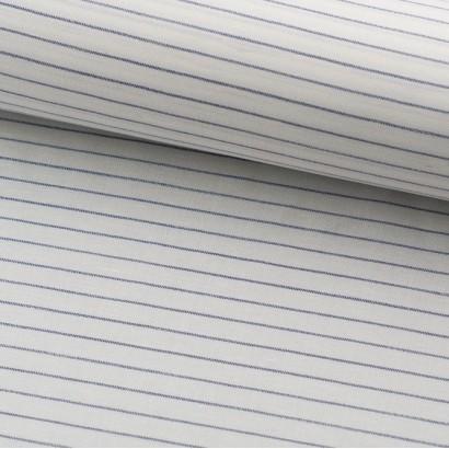 Tela de algodón rayas marineras