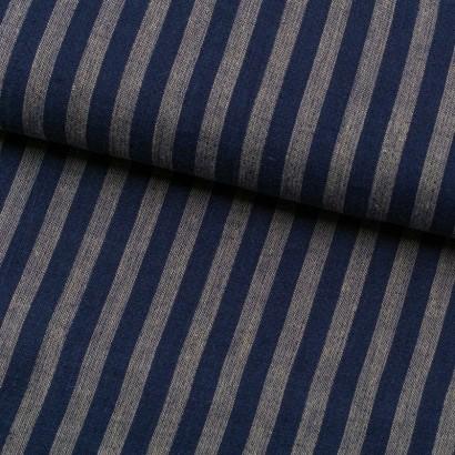 Tela de lino con rayas lomo