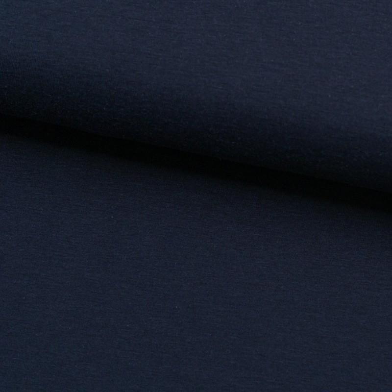 Tela de punto camiseta liso bambú lomo