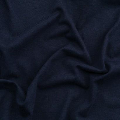 Tela de punto camiseta liso bambú arrugada