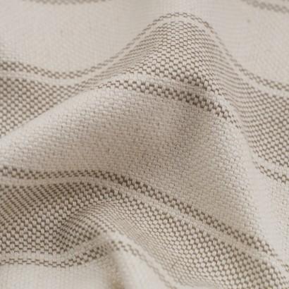 Tela de loneta rayas detalle