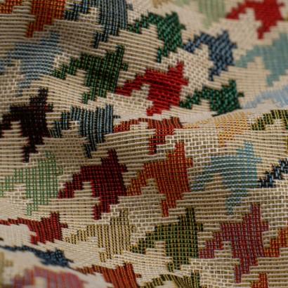Tela de tapiceria Gobelino pata de gallo detalle