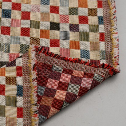 Tela de tapiceria Gobelino cuadros colores reves