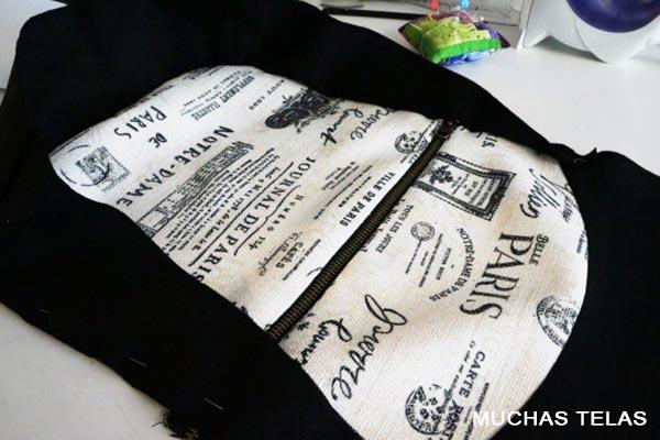 Patrones y explicaciones para confeccionar una mochila unir piezas