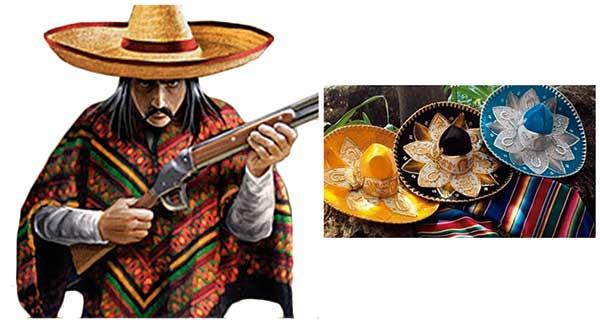 Cómo hacer un Poncho Mejicano