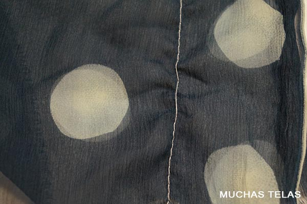Cómo coser un punto o una seda delicada
