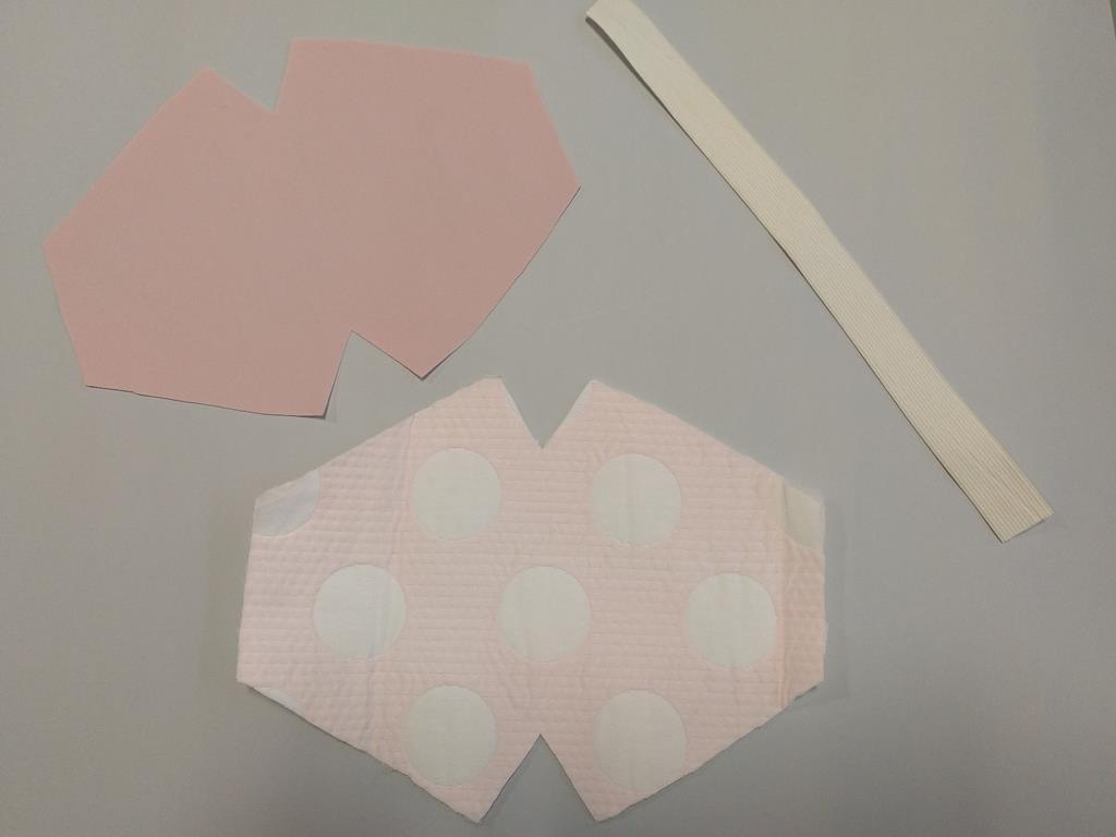 Materiales mascarilla modelo 4