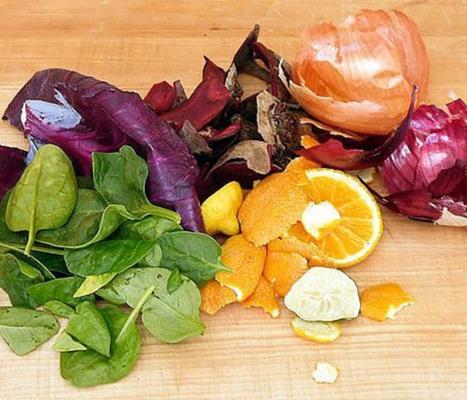 Tintes de frutas y verduras