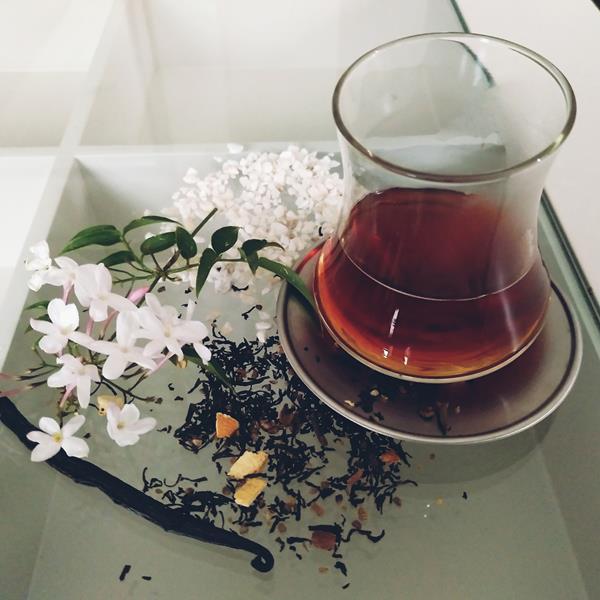 Teñir con té